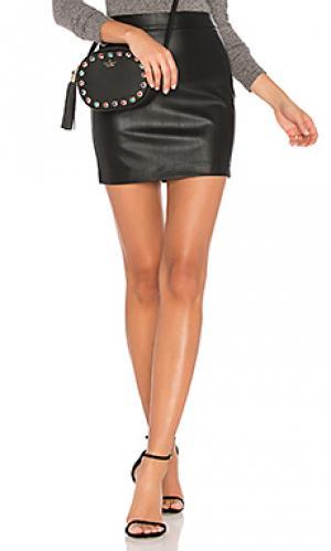 Юбка мини Bardot. Цвет: черный