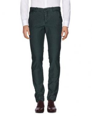 Повседневные брюки MONOCROM. Цвет: зеленый