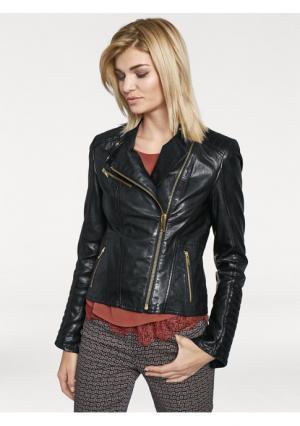 Куртка Rick Cardona. Цвет: черный, ярко-розовый
