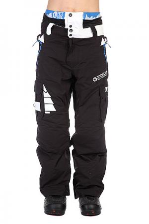 Штаны сноубордические  Pant Respect Black Picture Organic. Цвет: черный