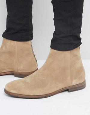 Paul Smith Замшевые ботинки на молнии Jean. Цвет: бежевый