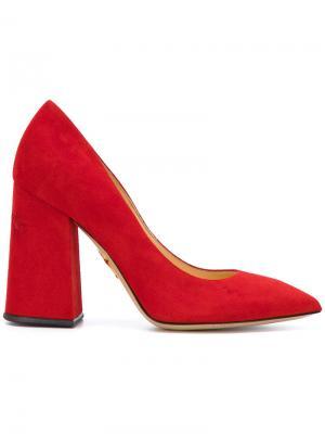 Туфли Amanda Charlotte Olympia. Цвет: красный
