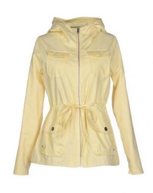 Куртка ELVINE. Цвет: светло-желтый