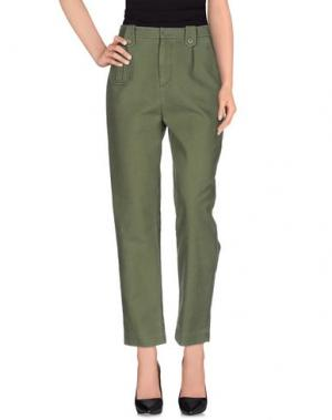 Повседневные брюки LEUR LOGETTE. Цвет: зеленый-милитари