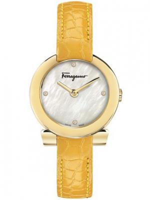Часы Salvatore Ferragamo. Цвет: белый, черный