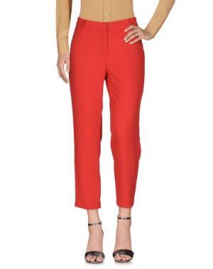 Повседневные брюки SIENNA. Цвет: красный