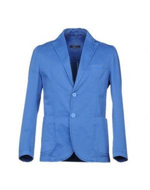 Пиджак RIVIERA. Цвет: синий