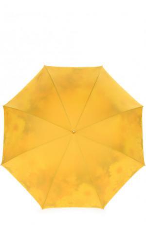 Зонт-трость Pasotti Ombrelli. Цвет: желтый
