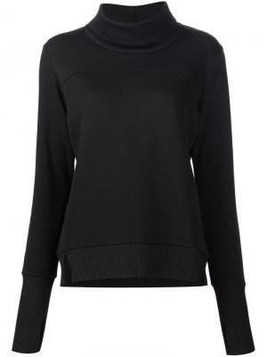 Roll neck sweatshirt Alo. Цвет: чёрный
