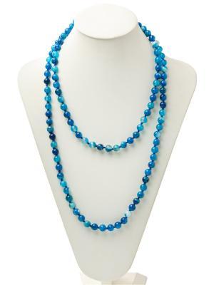 Бусы Oceania. Цвет: голубой, синий