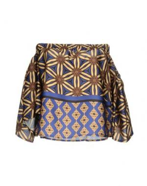 Блузка SOUVENIR. Цвет: желтый