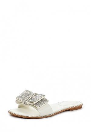 Шлепанцы Amazonga. Цвет: белый