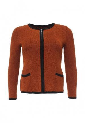 Жакет Milana Style. Цвет: оранжевый