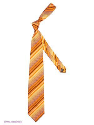 Галстук UNGARO. Цвет: оранжевый