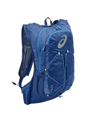 Рюкзак LIGHTWEIGHT RUNNING BACKPACK ASICS. Цвет: темно-синий, синий