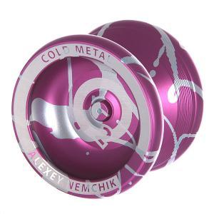 Йо-йо  CO2 Purple/White Aero-Yo. Цвет: фиолетовый,белый