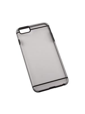 Защитная крышка для iPhone 6/6s Plus LP (черная с полосками/прозрачная задняя часть) Liberty Project. Цвет: черный, прозрачный