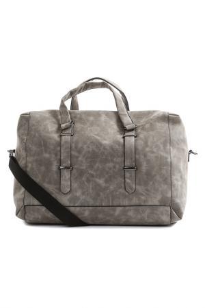 Дорожная сумка Otto Kern. Цвет: серый