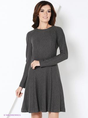 Платье Femme. Цвет: серый