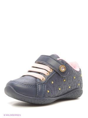 Ботинки Klin. Цвет: темно-синий