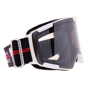 Маска для сноуборда  Crew Wdc-mtw Silver/Mir/Smoke I/S Eyewear. Цвет: белый,синий