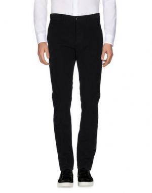 Повседневные брюки INDIVIDUAL. Цвет: черный