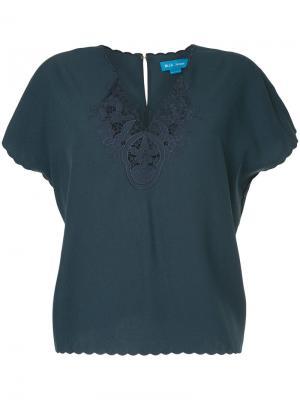 Блузка Ladik Mih Jeans. Цвет: зелёный