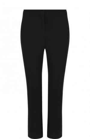 Укороченные расклешенные брюки Alexander McQueen. Цвет: черный