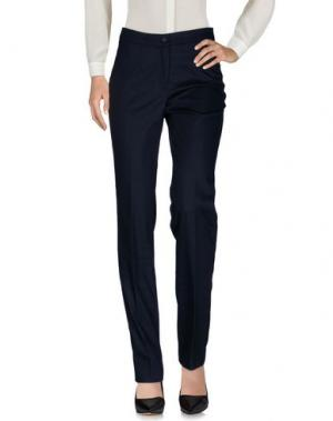 Повседневные брюки ROBERTO QUAGLIA. Цвет: темно-синий