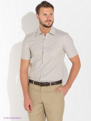 Рубашка ABSOLUTEX. Цвет: светло-серый