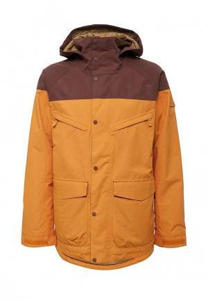 Куртка горнолыжная Burton. Цвет: оранжевый