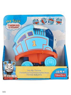 Томас и его друзья - Переворачивающийся паровозик THOMAS & FRIENDS. Цвет: голубой