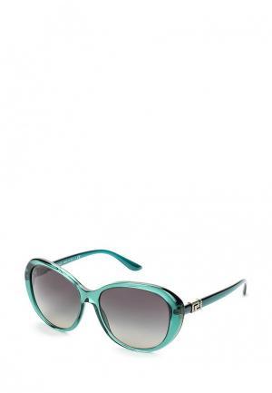 Очки солнцезащитные Versace. Цвет: зеленый