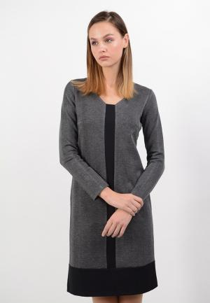 Платье Lino Russo. Цвет: черный