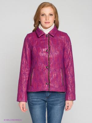 Куртка RIO VERTI. Цвет: фуксия