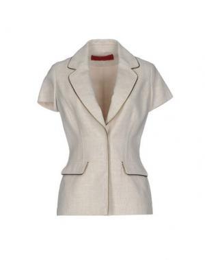 Пиджак TAMARA MELLON. Цвет: бежевый
