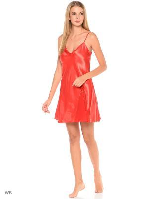 Сорочка ночная Belweiss. Цвет: красный