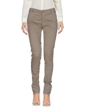 Повседневные брюки MURPHY & NYE. Цвет: серый