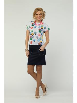 Блузка KATA BINSKA. Цвет: молочный