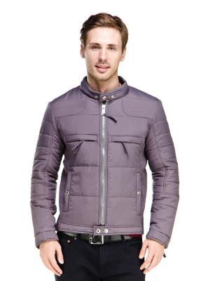 Куртка VipDressCode. Цвет: серый