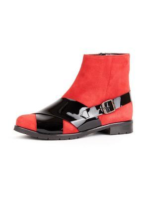Ботинки RICCORONA. Цвет: красный, черный