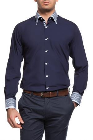 Рубашка Dewberry. Цвет: navy