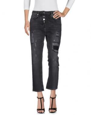 Джинсовые брюки MAX & CO.. Цвет: черный