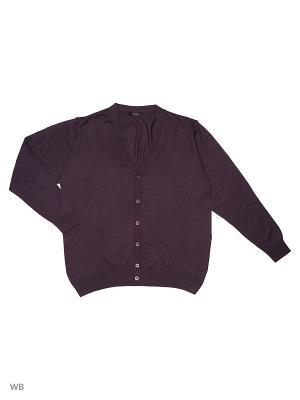 Кардиган GALS. Цвет: темно-фиолетовый