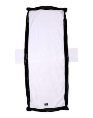 Пляжное полотенце I-AM. Цвет: белый