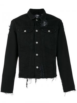 Джинсовая куртка Desire Misbhv. Цвет: чёрный