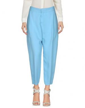 Повседневные брюки NEW YORK INDUSTRIE. Цвет: небесно-голубой
