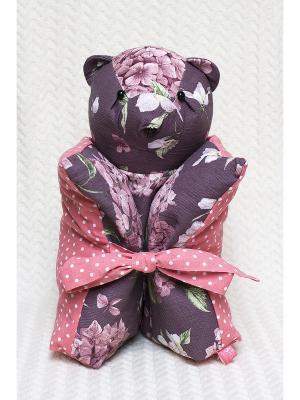 Декоративная подушка Mammi. Цвет: сливовый