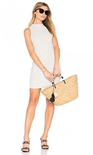 Мини платье kerley BB Dakota. Цвет: серый