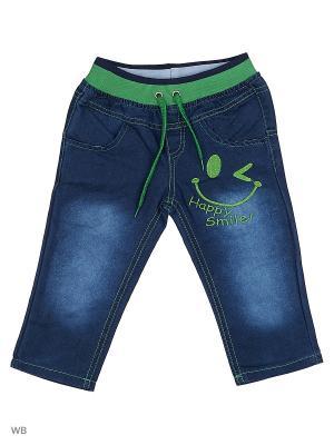Джинсы M-BABY. Цвет: синий, зеленый